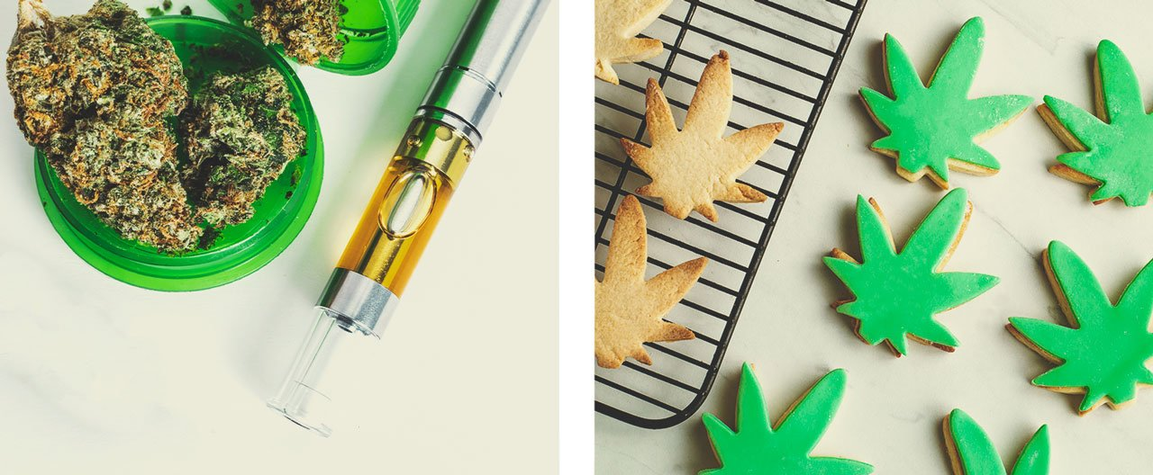 Wat zijn de alternatieven voor het roken van wiet?