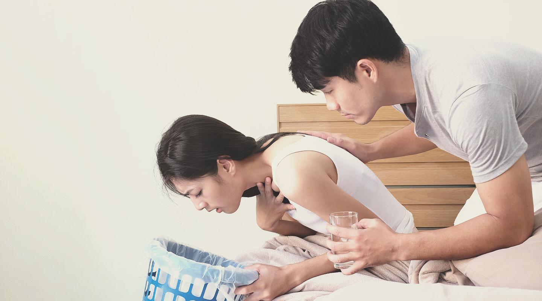 Zwangerschapsmisselijkheid